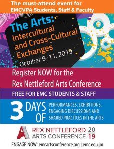 Rex Nettleford Arts Conference 2019 Flyer